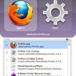 Quicksilver Mac OS X App Starter