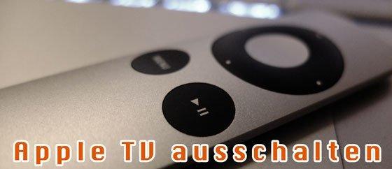 apple tv ausschalten