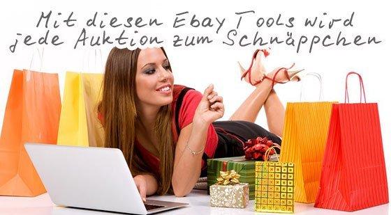 Mit diesen Ebay Tools wird jede Ebay Auktion zum Schnäppchen