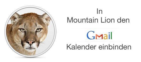 mountain lion google kalender