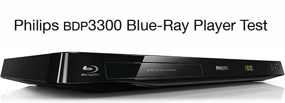 Philips bdp3300 Blue Ray Player Test