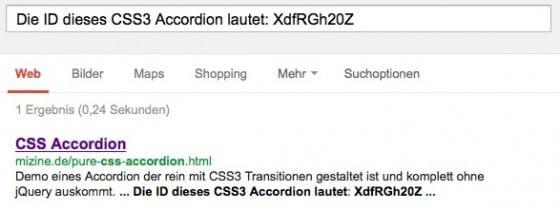 css display none google index