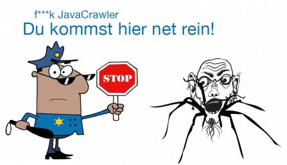 Java bots und crawler aussperren per .htaccess