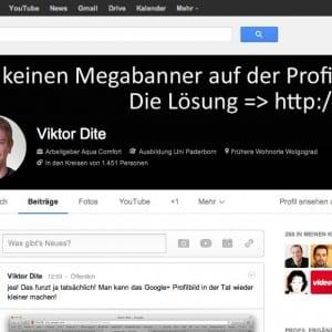 google plus neue profile