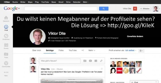 google plus neue profile