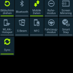 Android Quick Status-Bar