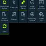 Android Quick Status-Bar