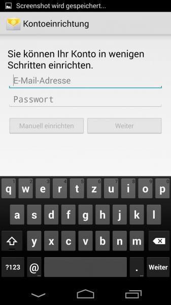 android 4.4 kitkat gmx imap einrichten