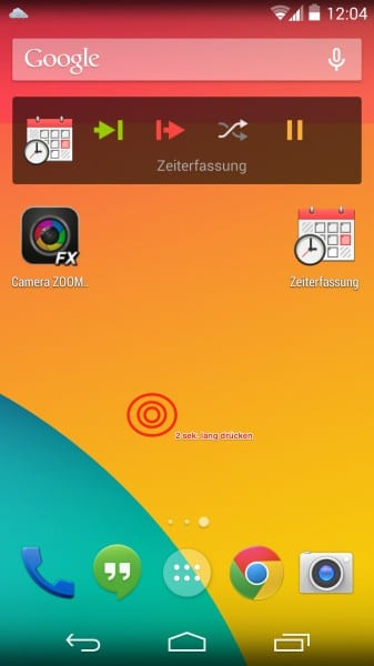 nexus 5 widgets homescreen how to