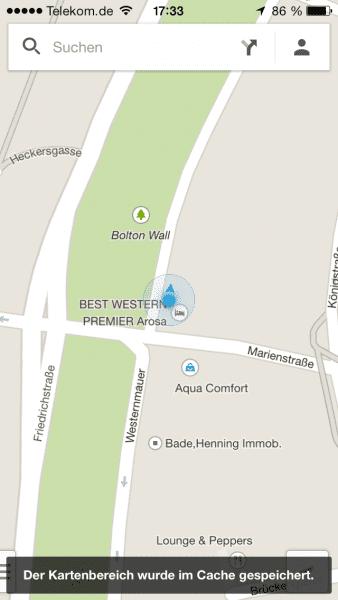 google maps karten offline nutzen