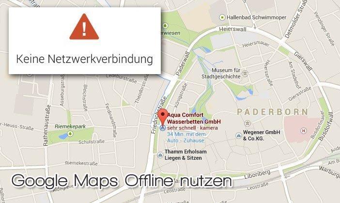 google-maps-offline-nutzen
