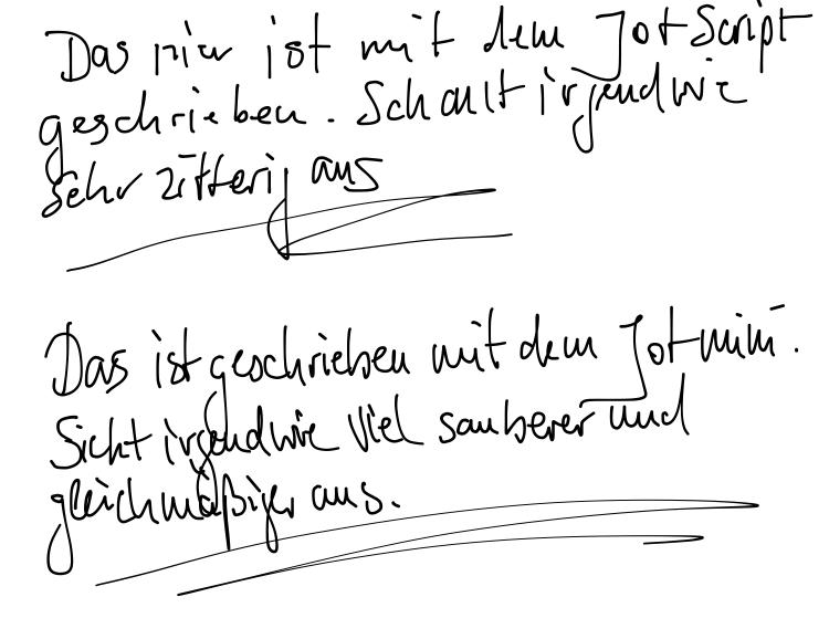 adonit-jot-script-vs-jot-mini-schreiben