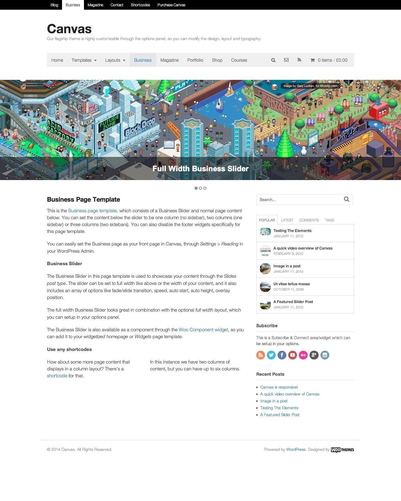 Die Beliebtesten 10 Wordpress Themes Der Welt Mizine