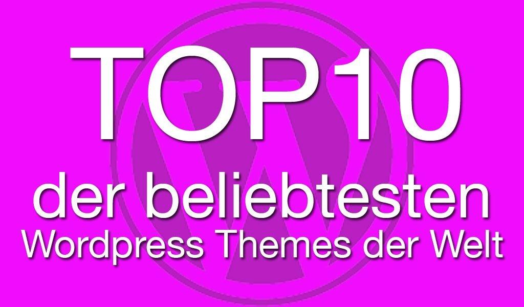 top10 wordpress themes der welt