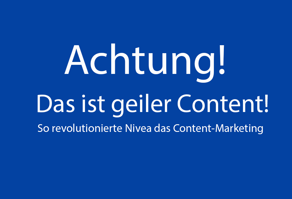 geiles content marketing