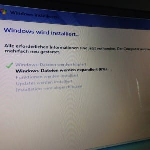 Lenovo G710 Windows 7 installieren