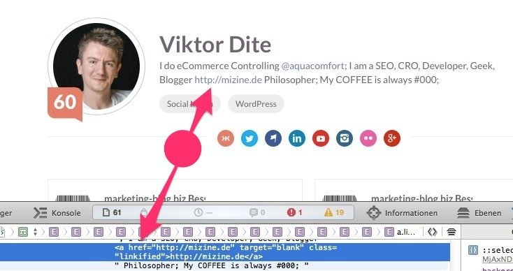 klout-profile-dofollow-link