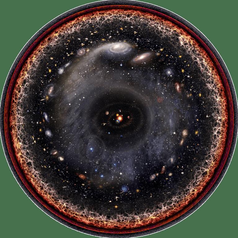 Das gesamte Universum in einem einzelnen Bild