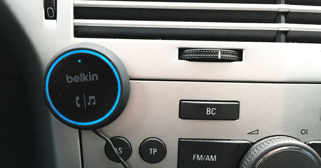 aux und siri am belkin car audio connect bluetooth. Black Bedroom Furniture Sets. Home Design Ideas
