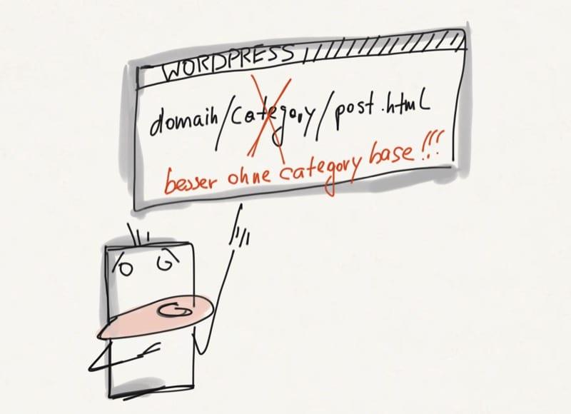 WordPress Category Base 'category' aus der URL entfernen