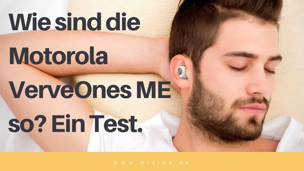 Motorola VerveOnes Music Edition ME Test