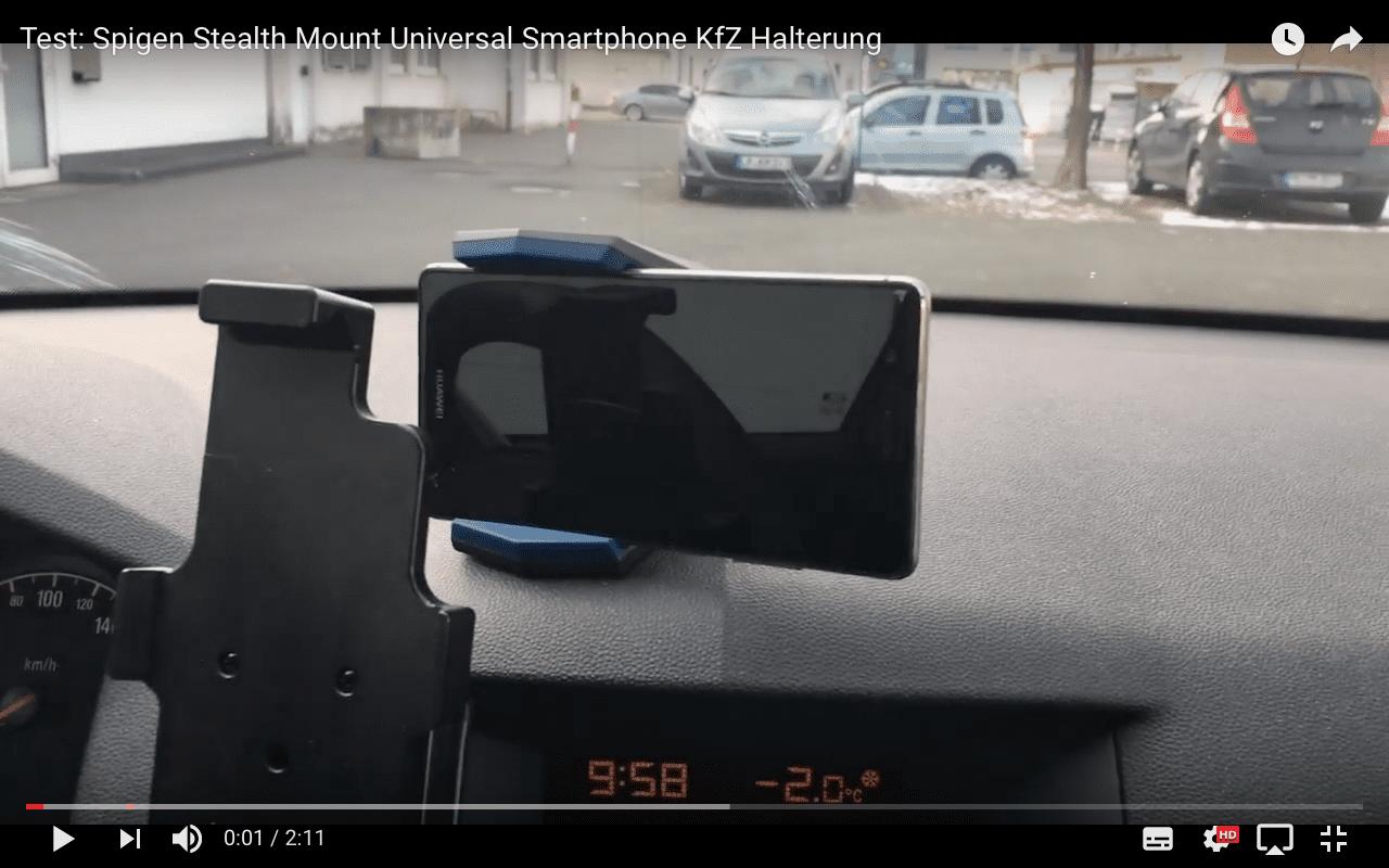 Test: Spigen Stealth Car Mount Universal Smartphone KfZ Halterung – hält sie wirklich?