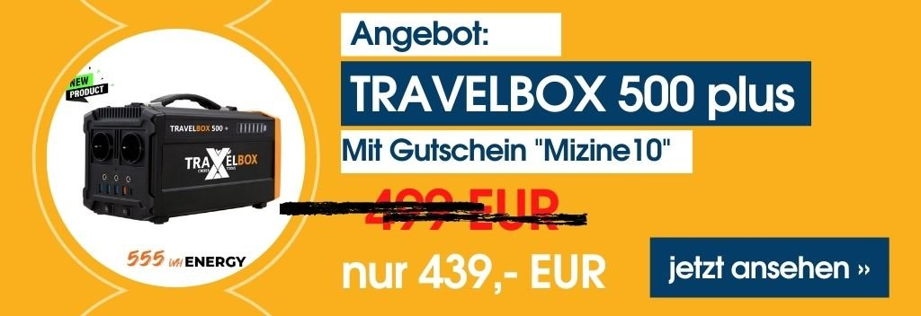 Travelbox 500 plus Angebot