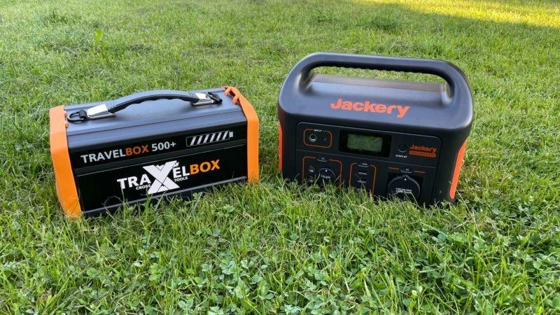 Jackery Explorer 500 vs Travelbox 500 plus