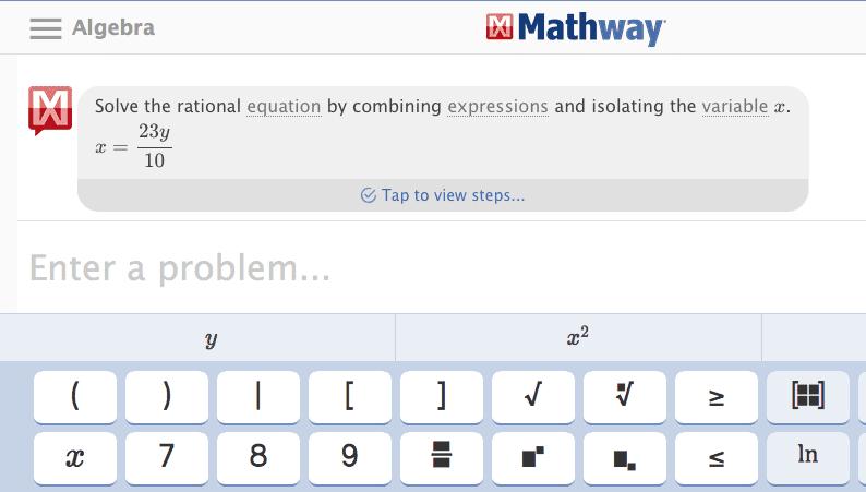 Online komlexe Gleichungen lösen 3