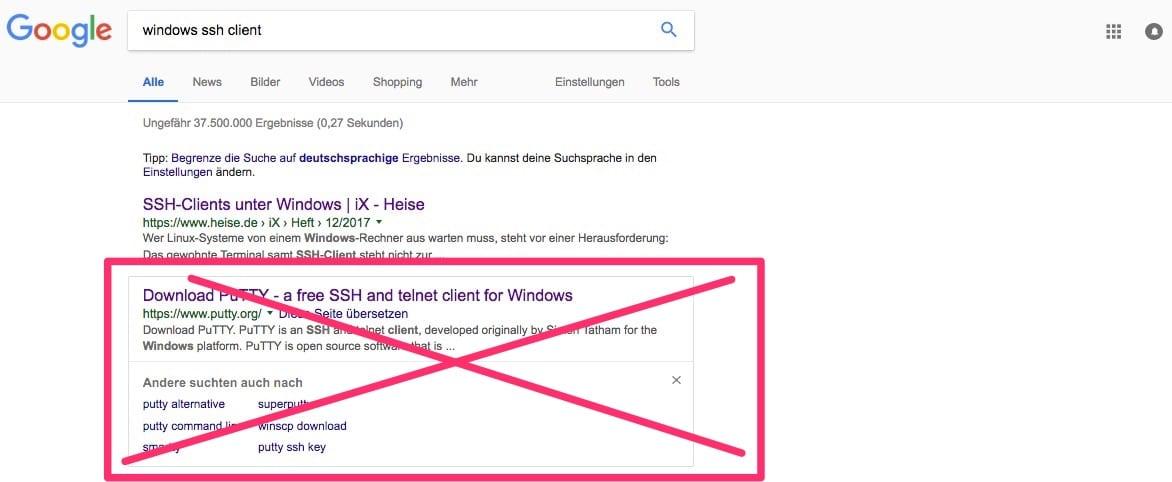 Windows SSH Client