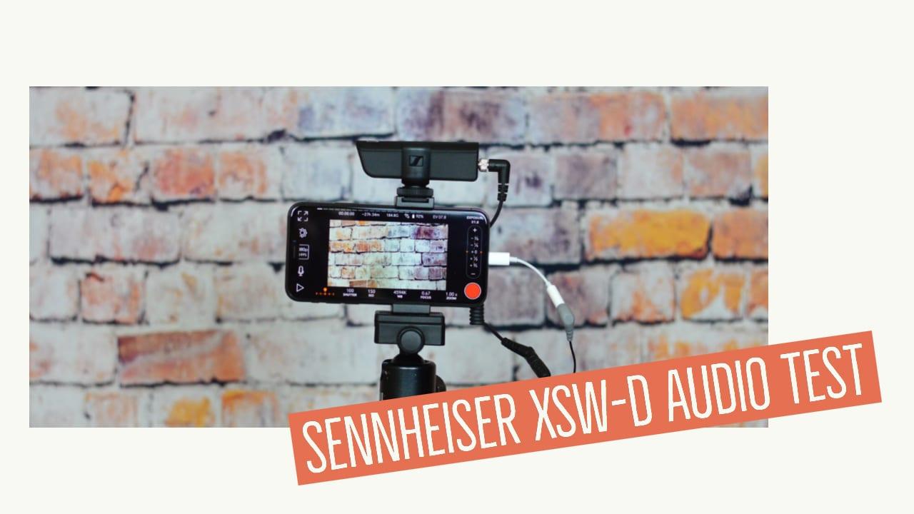 Sennheiser xsw-d Audio Übertragungsqualität
