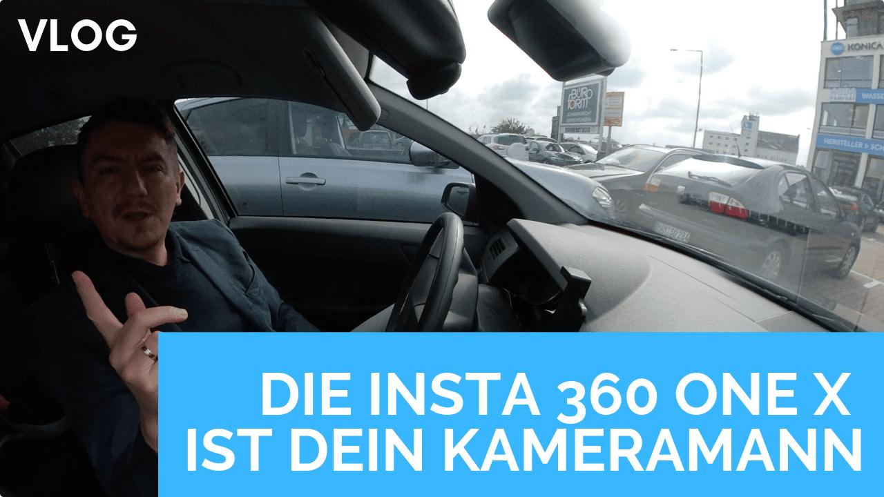 Die Insta 360 One X Kamera Perspektive ist dein persönlicher Kameramann