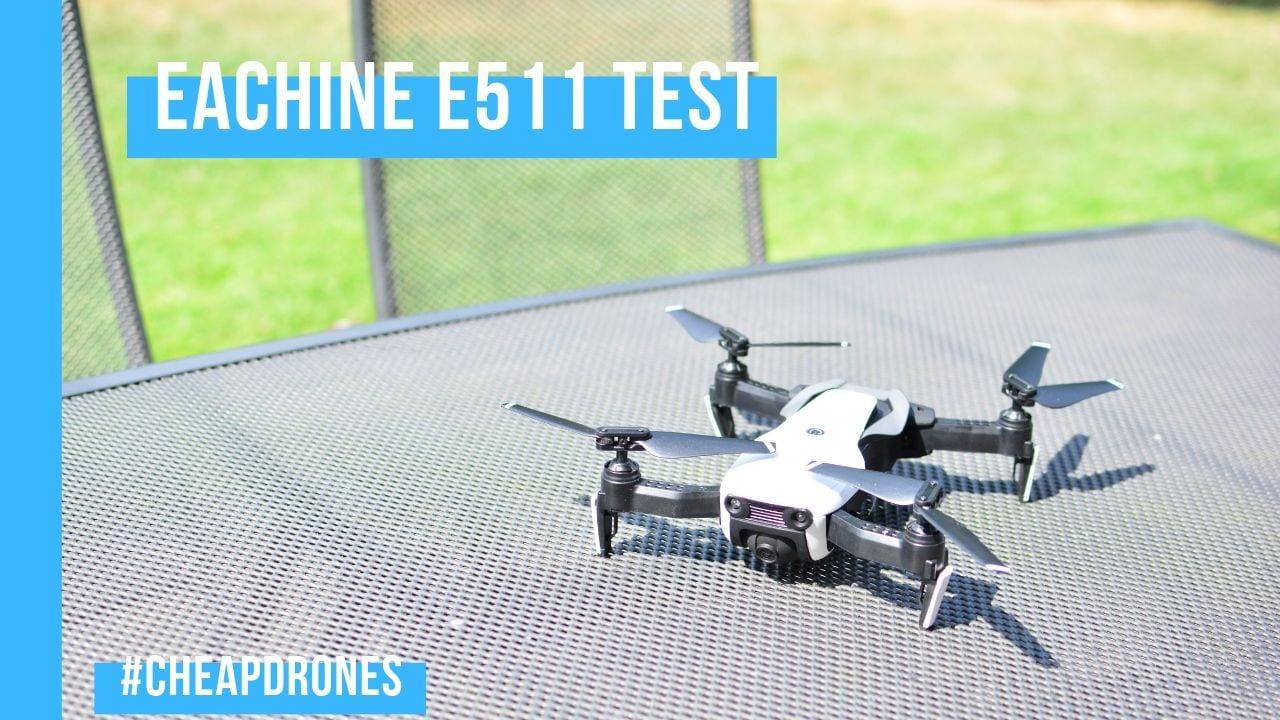 Eachine e511 Test - taugt der DJI Mavic Air Klon etwas?