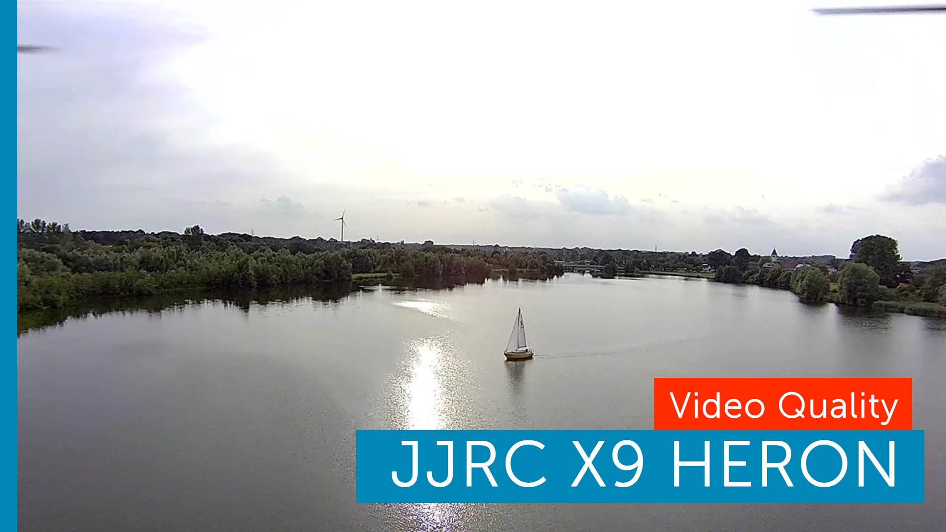 JJRC X9 Heron 1080p GPS Gimbal Drohne
