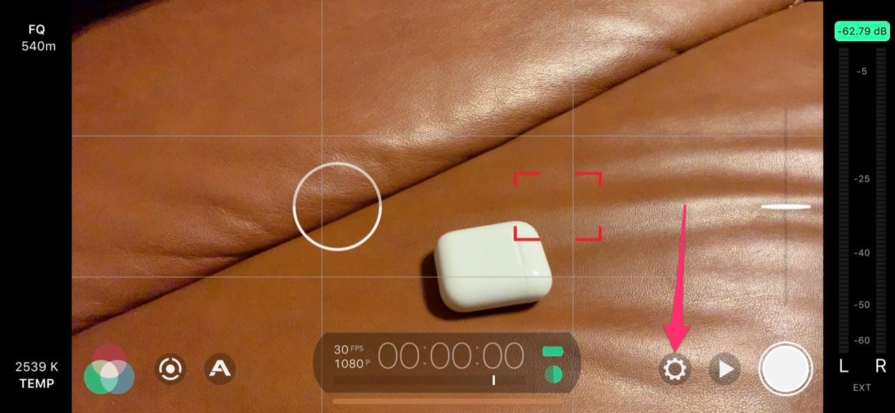 Filmic Pro Airpods Bluetooth Mikrofon 1/3