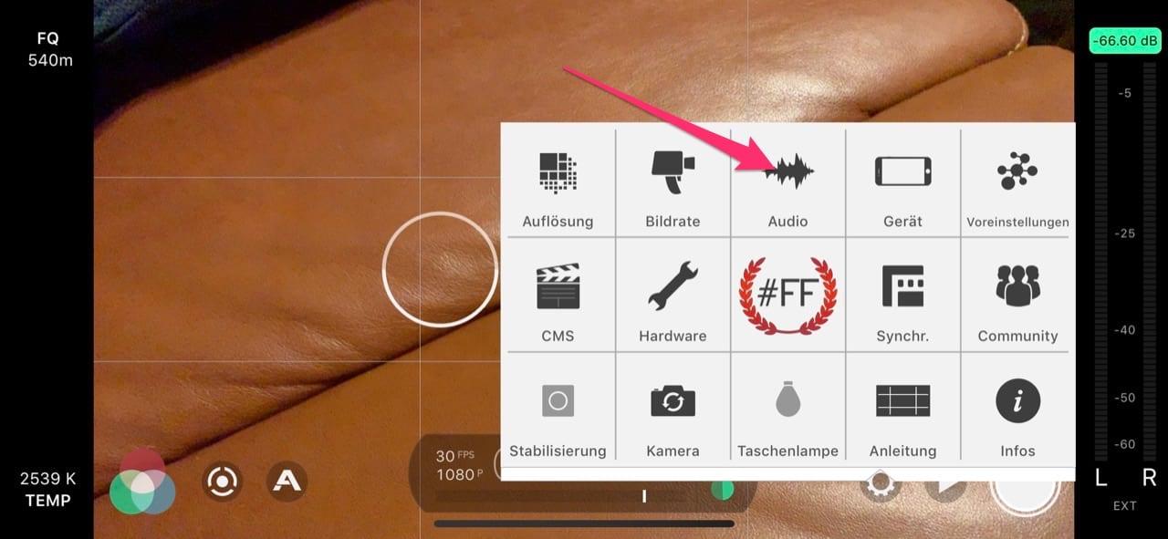 Filmic Pro Airpods Bluetooth Mikrofon 2/3