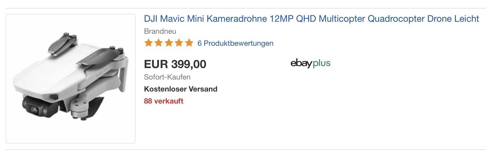 DJI Mavic Mini Angebot Deutschland