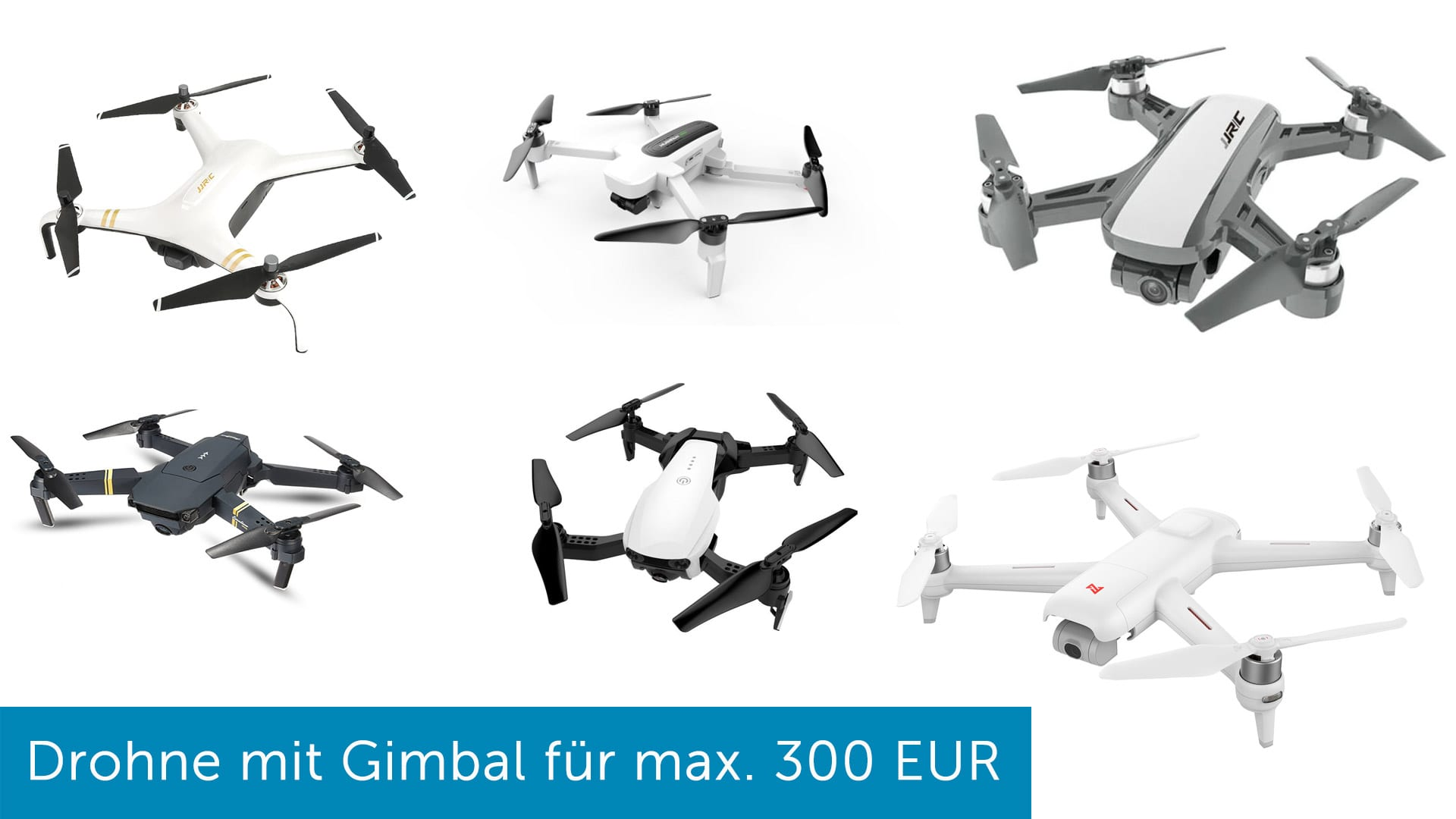 günstige Drohne mit Kamera Gimbal und GPS