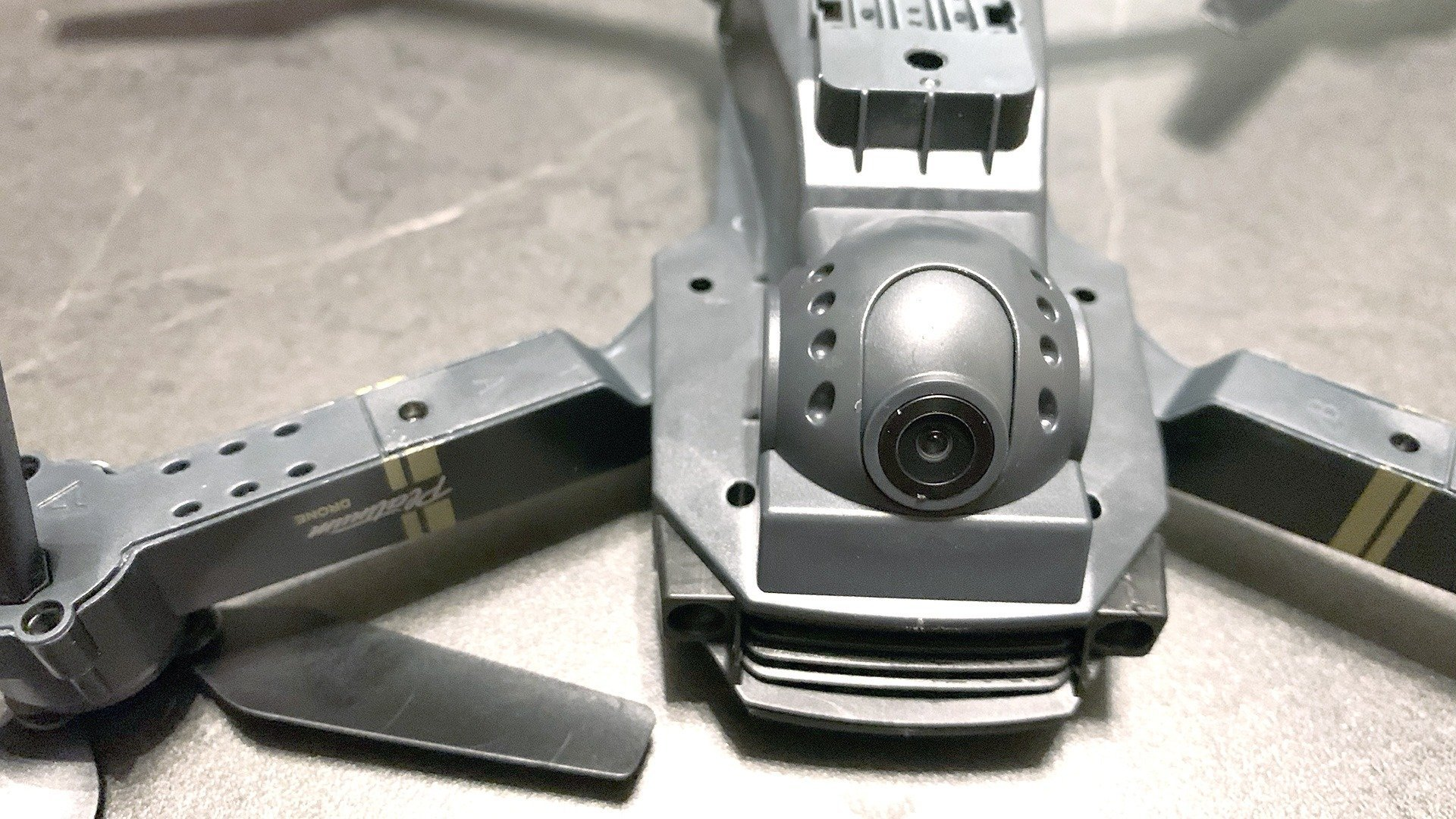 DroneX Pro Gimbal? Nein, da ist kein Gimbal bei der DroneX Pro