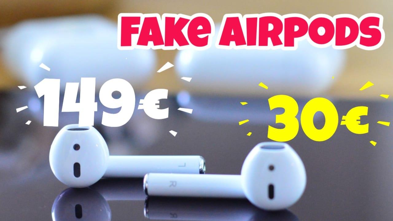 Fake Airpods für 30 EUR. Wirst Du den Kauf bereuen?