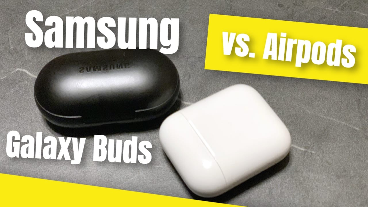 Galaxy Buds vs. Airpods 2