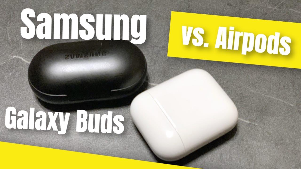Galaxy Buds vs. Airpods 2