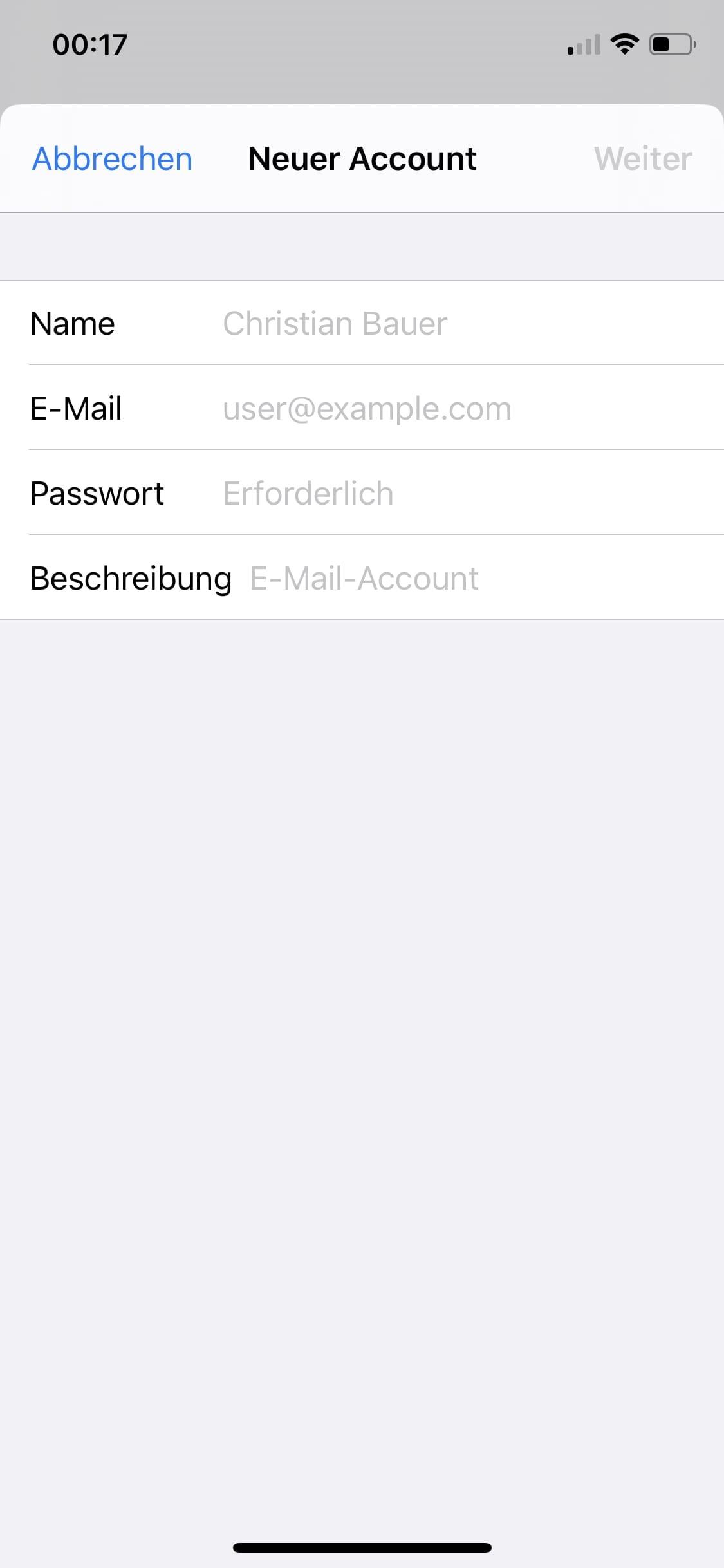 Iphone gmx mail passwort anzeigen