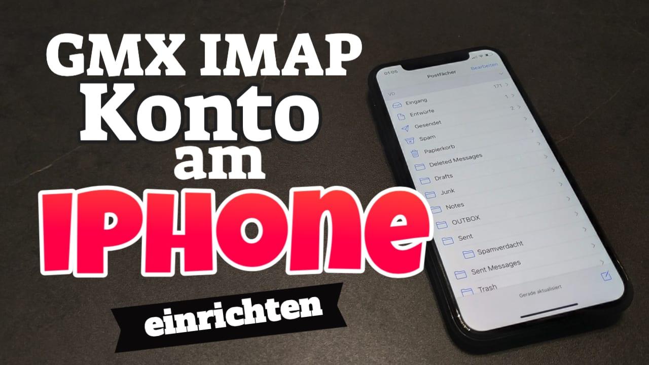 GMX IMAP Konto am iPad oder iPhone einrichten