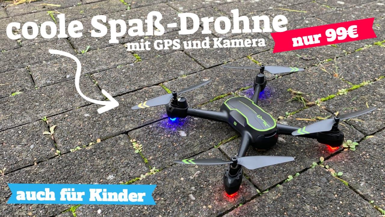 Asbww GPS Drohne mit Kamera für unter 100 Euro