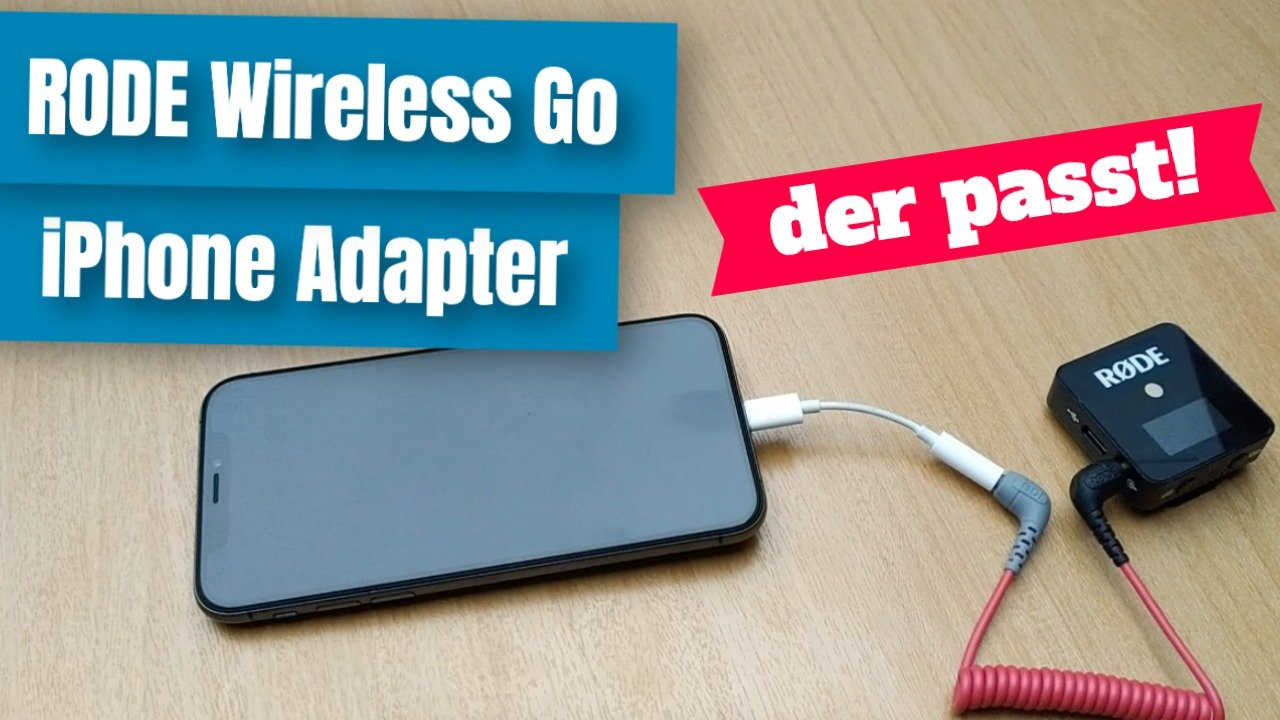 RODE Wireless Go am iPhone anschließen