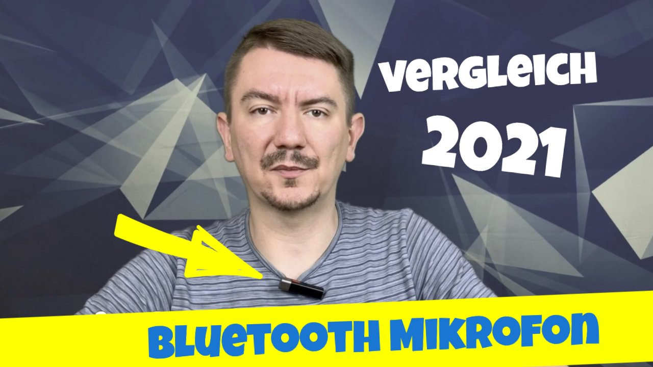 Bluetooth Mikrofon für iPhone oder Android Handy 2021
