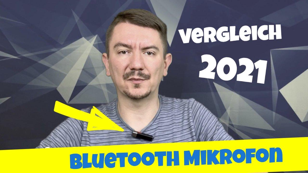 Bluetooth Mikrofon für iPhone oder Android Handy 2021