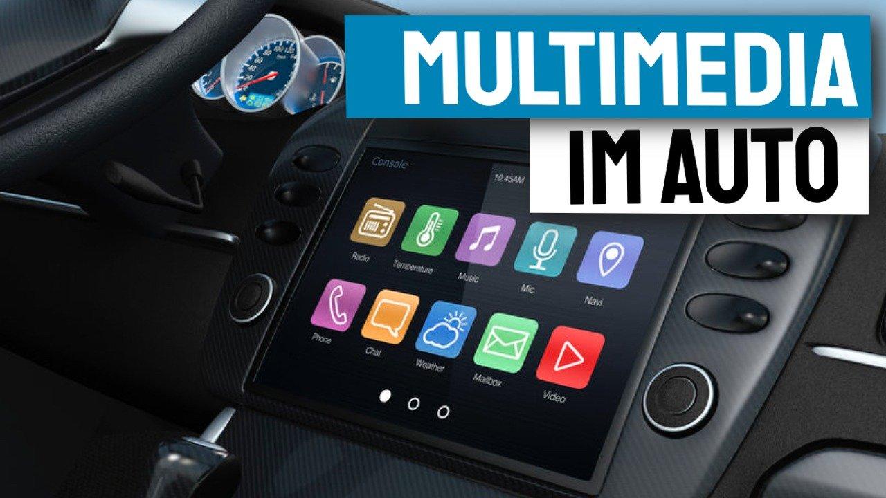 Was bieten Car-Multimedia-Geräte im Auto?