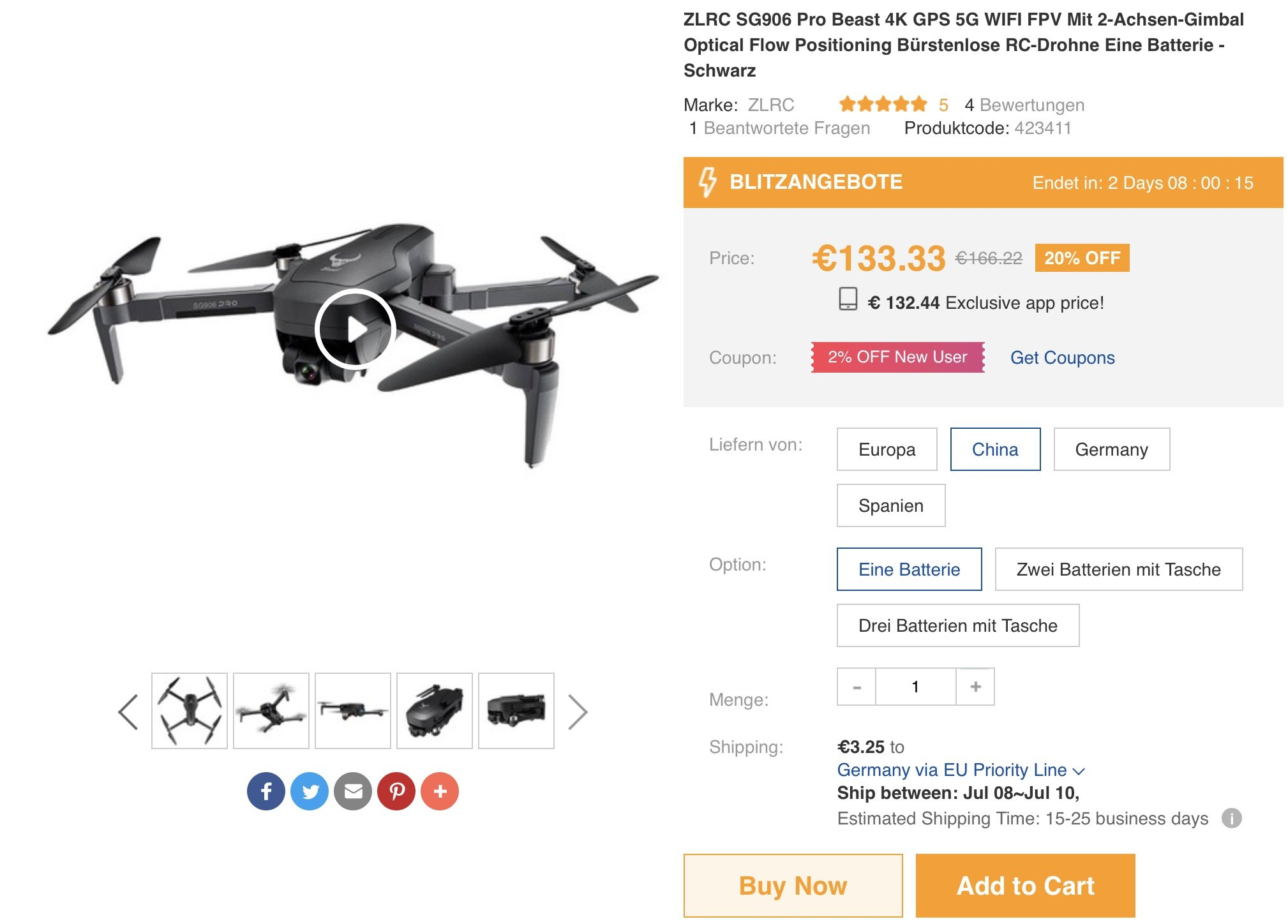SG906 Pro Drone Deal